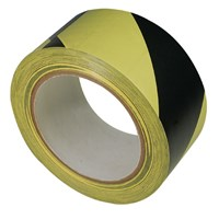 Striped Warning Tape - Yellow and Black Stripe