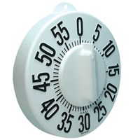 Picture of Tactile Long Ring Low Vision Timer - White Dial
