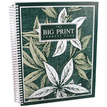 The Big Print Address Book