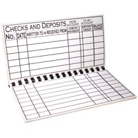 The Giant Print Check Register
