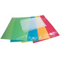 Color-Coded Flexible Chopping Mats- Set of 6