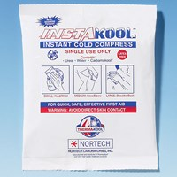 InstaKool Instant Cold Compress - Small 4 x 6 in. - Package of 3