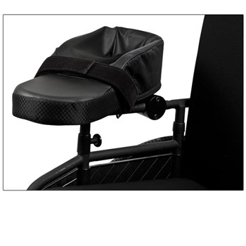 Comfort Wheelchair Armrest with Rotating Base-Right