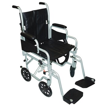 Poly-Fly Wheelchair-Transport Chair Combo-18-in Seat