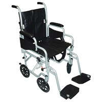 Poly-Fly Wheelchair-Transport Chair Combo-20-in Seat