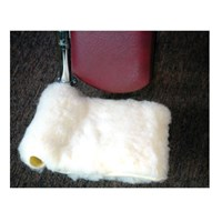 Synthetic Shearling Wheelchair Footrest Covers