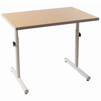 Wheelchair Accessible Table with Knob Adjustment