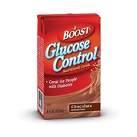 BOOST Glucose Control- Chocolate-8oz Pk-Case of 27