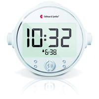 Pro Alarm Clock - Amplified Alarm-Strobe-Vibration