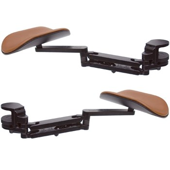 Ergorest Forearm Support - Brown-Black -Set of 2