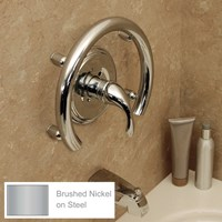 Invisia Bath Accent Ring-Support Rail- Nickel