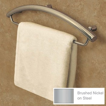 Invisia Towel Bar-Support Rail - 24-in.- Nickel