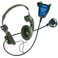Picture of Hearing Impaired E-Scope II w-Convert. Headphones