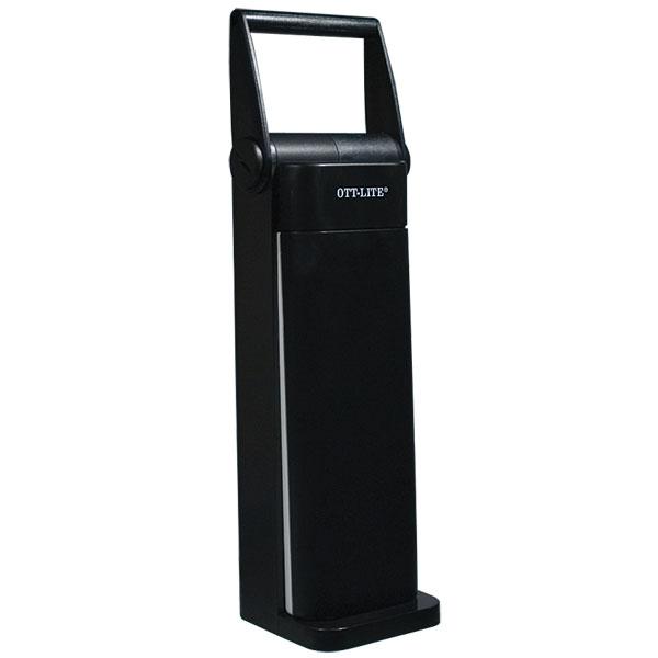 MaxiAids   OttLite Folding Task Lamp- Black