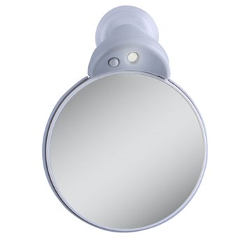 LED Lighted Spot Mirror 10X-5X