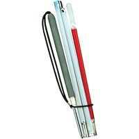Europa Slim Aluminum Folding Cane - 46 inches