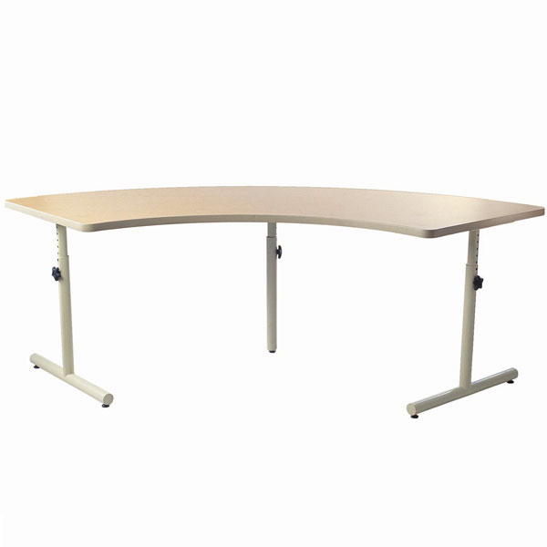 Quarter Round Therashape Accessible Table With Knob Adjustment  DS ...