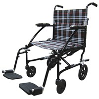 Drive Fly Lite Lightweight Transport Chair- Black