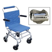 Super Light Folding Transport Chair w.Carry Bag