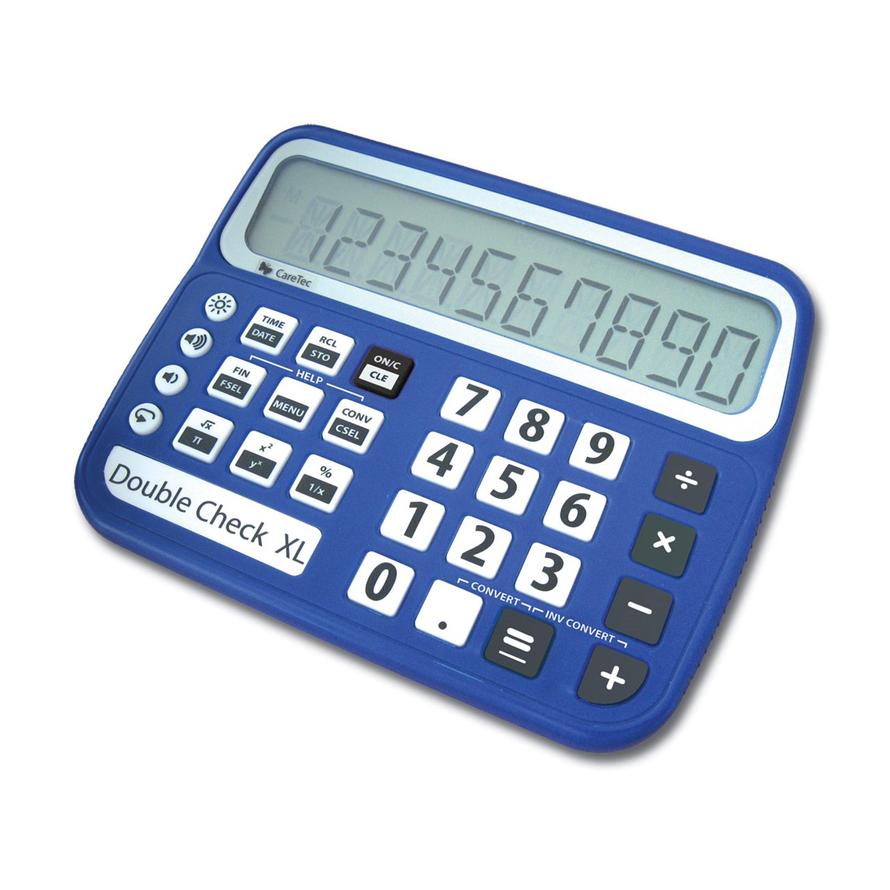 MaxiAids | DoubleCheck XL Talking Low Vision Commercial Calculator