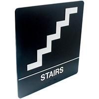 Tactile Braille Signs - Stairs