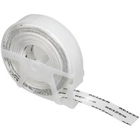 Clear Vinyl Label Tape- .50-in x144-in Single Roll
