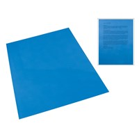 Dark Blue Tinted Plastic Reading Sheet