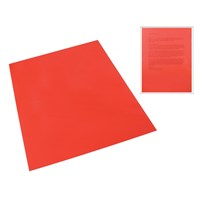 Red Tinted Plastic Reading Sheet