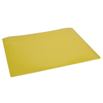 Transparent Yellow Reading Aid