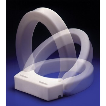 Hinged Elevated Toilet Seat - Standard