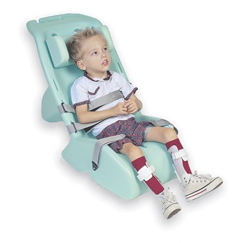 Childrens Chaise with Headrest and Straps