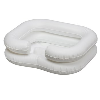 Deluxe Inflatable Bed Shampooer - White