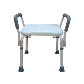 Drive Bath Bench with Removable Padded Arms -Without Back