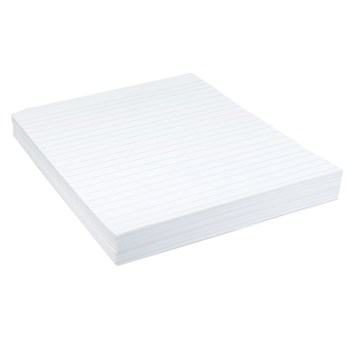 Raised Line Writing Paper