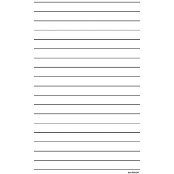 Giant Bold Line Writing Paper - Pad of 50