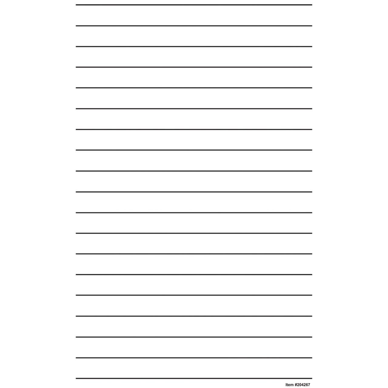 MaxiAids – Wide Lined Writing Paper