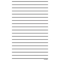 Giant Thick Line Writing Paper - Pad of 50