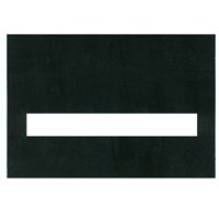 Typoscope -3 1-2 x 5 inches  100 Regular Black Plastic