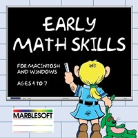 Early Math Skills- Single User -Software