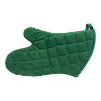 Oven Mitt, 13 Inches-Green