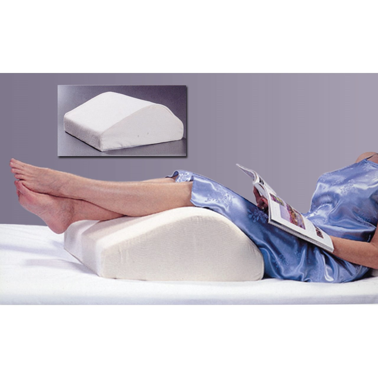 Bed wedge for legs - Spine Reliever Leg Wedge Extra Large