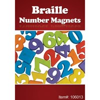 Picture of Braille Number Magnets - 27 Pieces