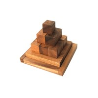 Pagoda Tactile Wooden Puzzle