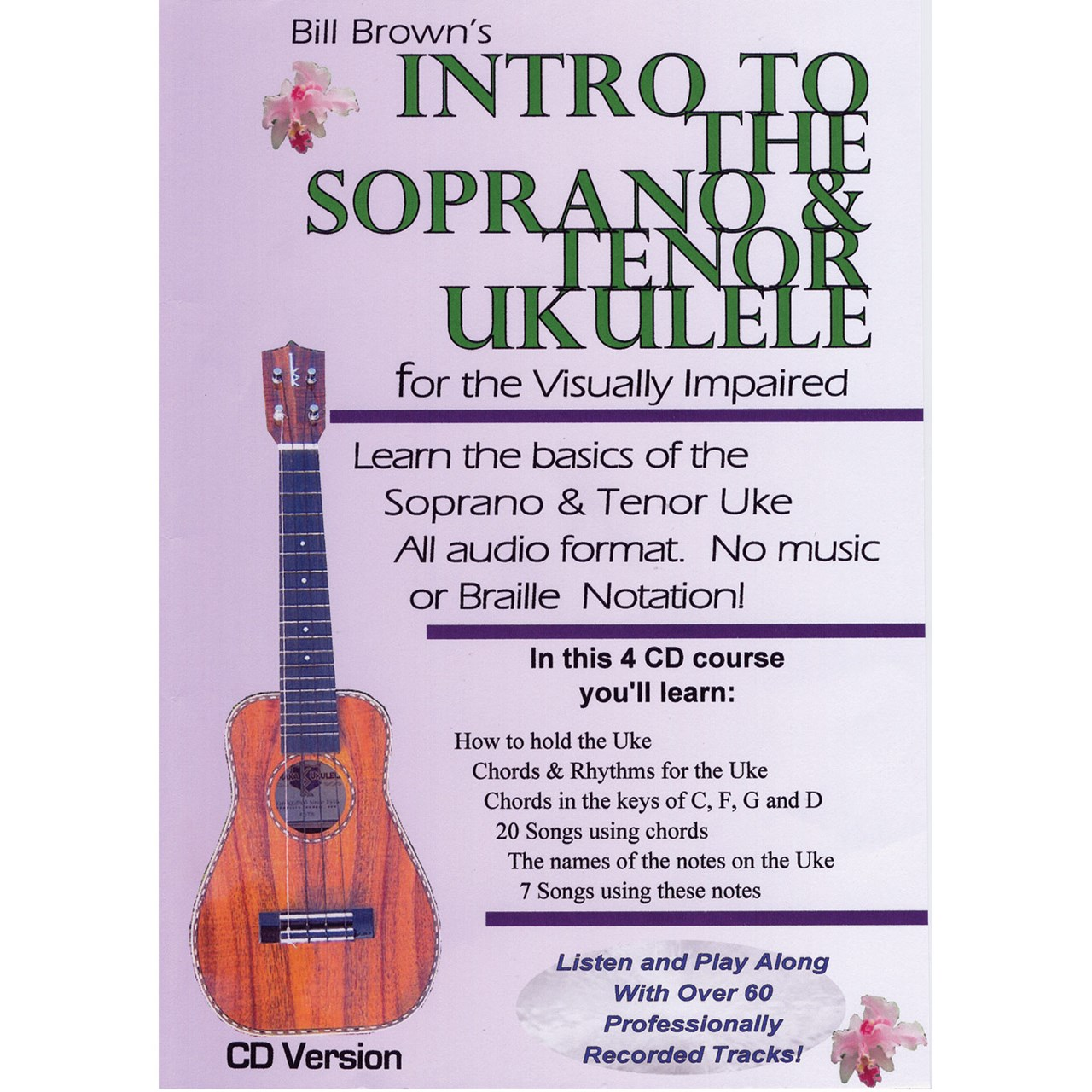 Maxiaids Intro To The Soprano And Tenor Ukulele For The Visually