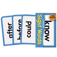 Sight Words Level B Brailled Pocket Flash Cards