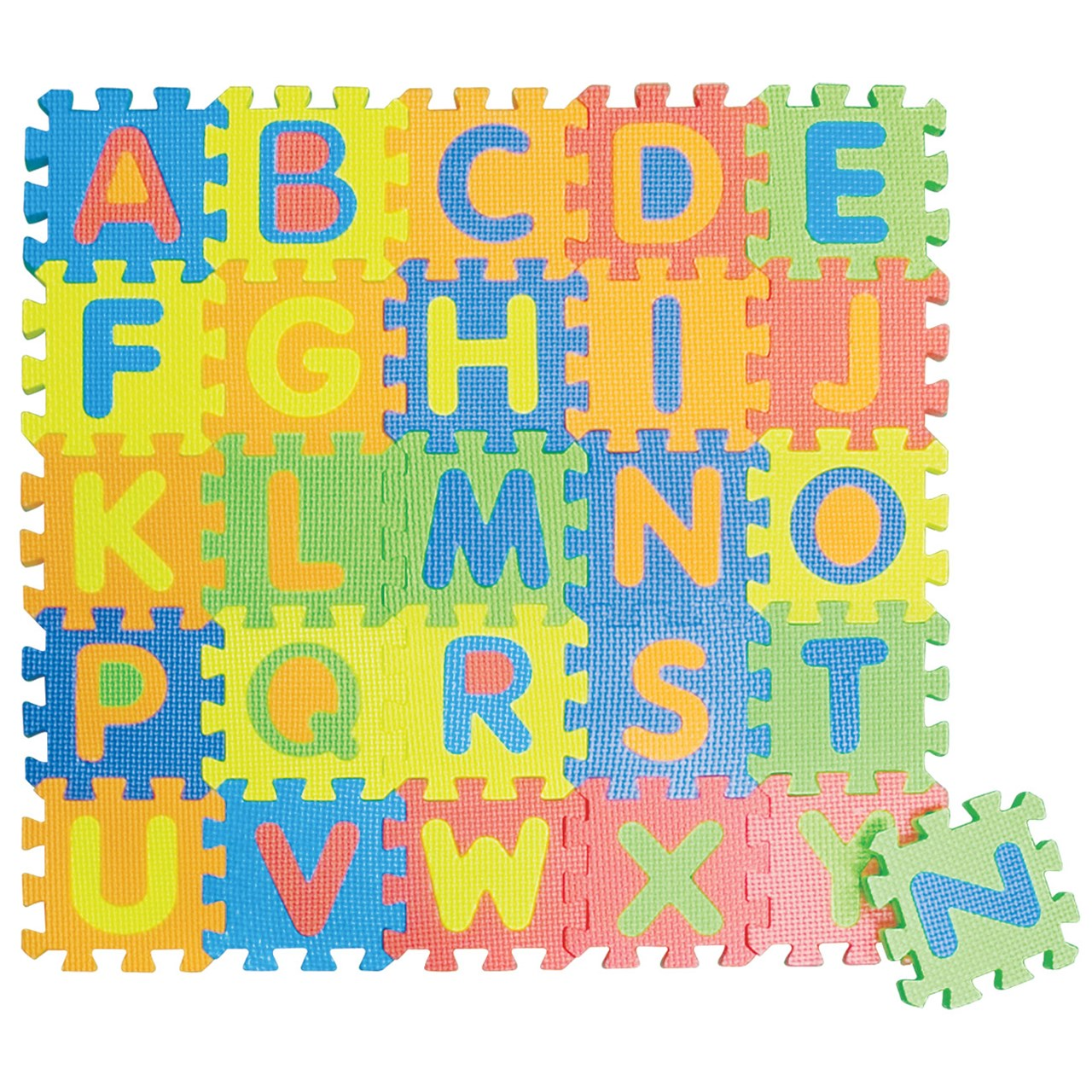 Set of 26 Toy Mini Edu Tiles EDUSHAPE EDU-706256 Letters
