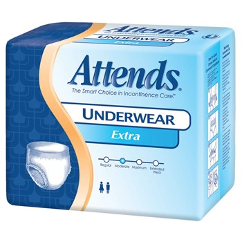 Attends Protective Underwear-Extra- Med -80-cs