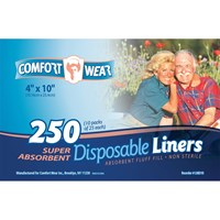 Disposable Liners - 4x10-in. -250-cs