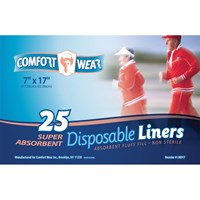 Disposable Liners - 7 x 17-in. -250-cs
