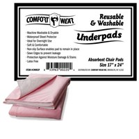 Reusable Underpads - 17x24-in -One Pad